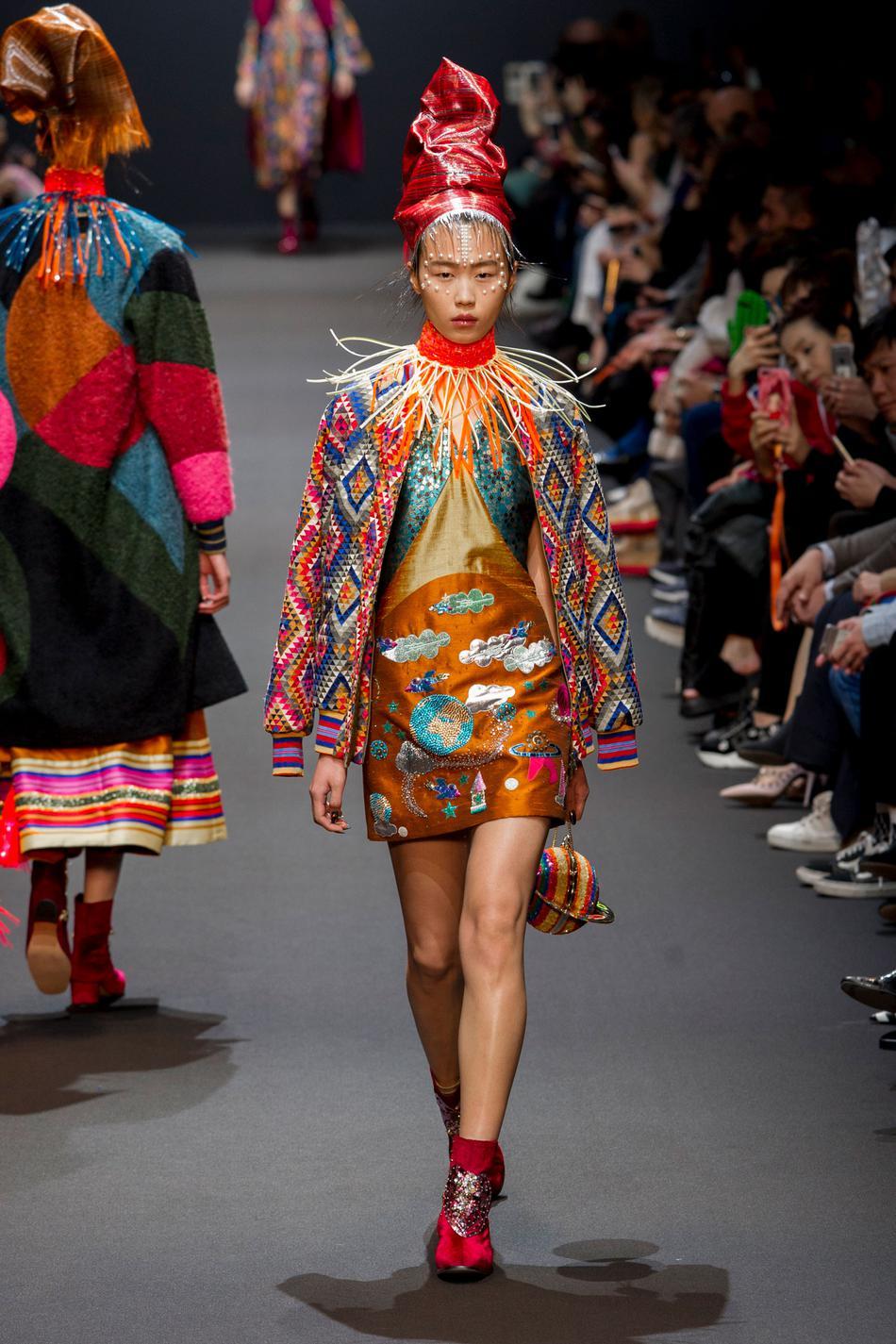 Défilé Manish Arora Fashion Week 2017 - Look 14