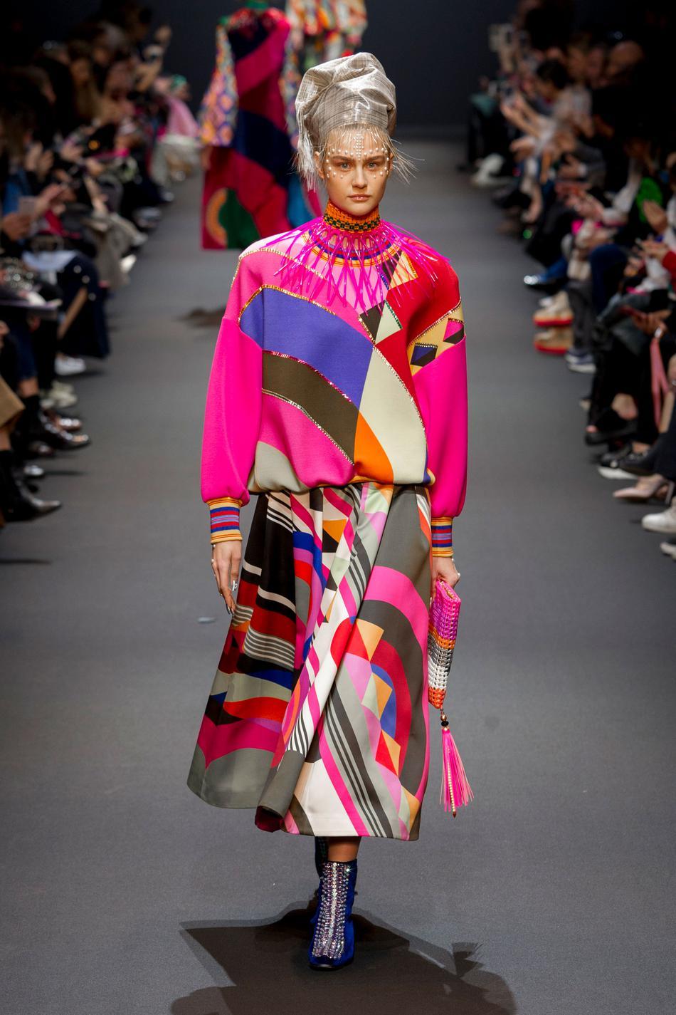 Défilé Manish Arora Fashion Week 2017 - Look 16