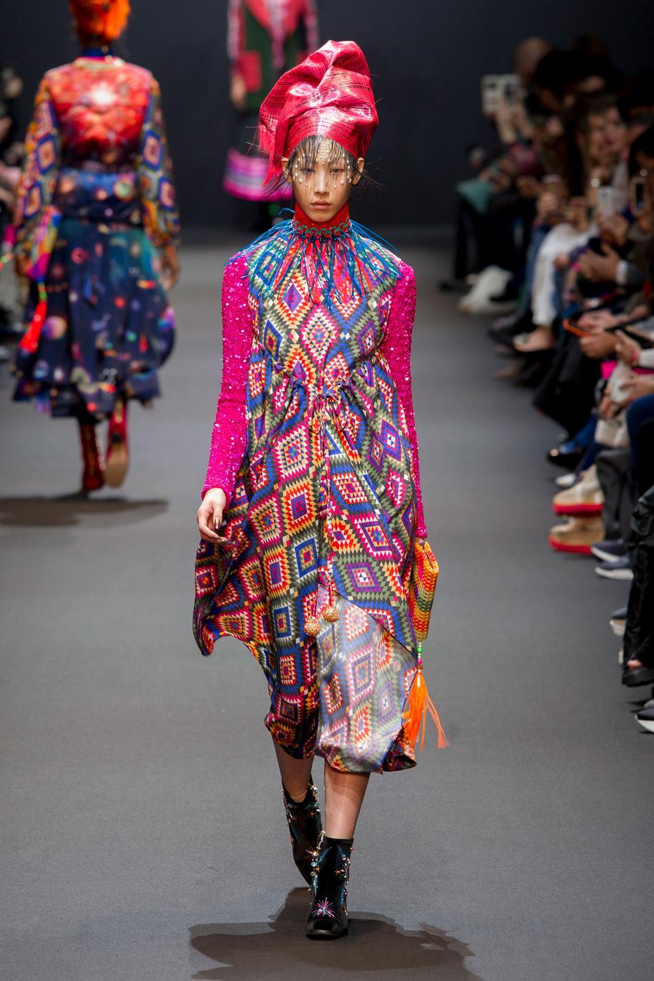 Défilé Manish Arora Fashion Week 2017 - Look 8
